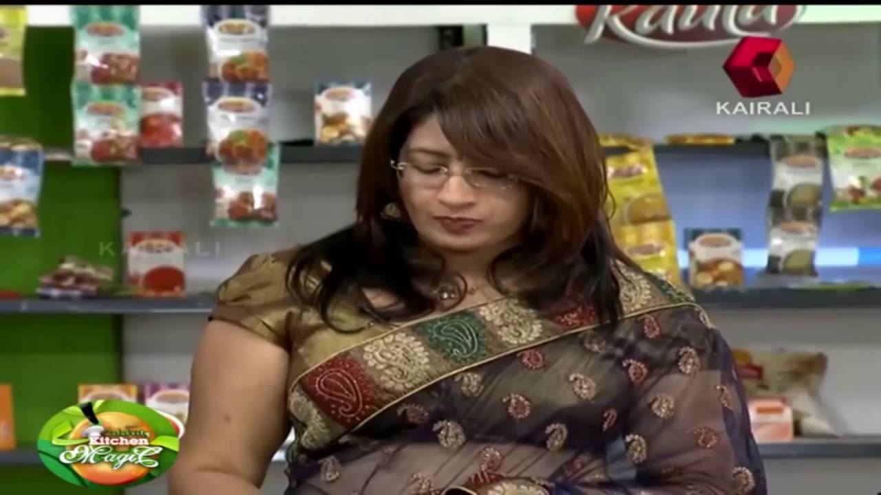 Anitha Nair Making Problems in Celebrity Kitchen Magic ...