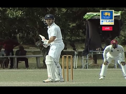 Nick Compton representing Ports Authority in SL Domestic Cricket