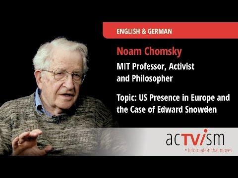 Noam Chomsky on US Presence in Europe & Edward Snowden