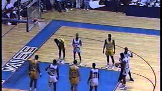 Chris Jackson(LSU)55points vs Gerald Glass(Ole Miss)53 points 1989