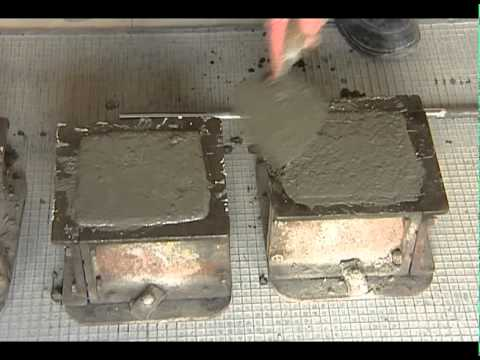 TEST FOR COMPRESSIVE STRENGTH OF CONCRETE | CUBE TESTING