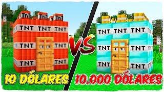 💣 Casa de TNT DE RICO vs casa de TNT DE POBRE 💥 - MINECRAFT