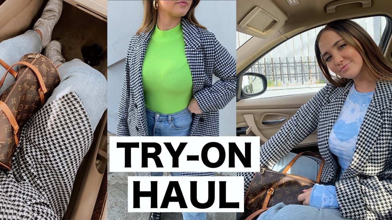 [VIDEO] - HUGE WINTER TRY ON CLOTHING HAUL 2019 2