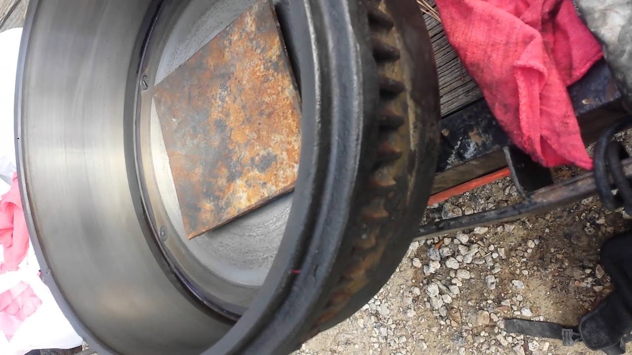 hight resolution of seal and bearing replacement on 10 k axle