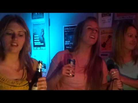 Having Fun with Karaoke at D'McGearys - 1/18/13