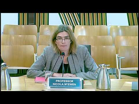 European and External Relations Committee - Scottish Parliament: 22nd September 2016