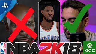 NBA 2K18 - NBA 2K & GRAPHICS THROUGH THE YEARS!!! WHY NBA 2K18 FACE SCAN WILL BE THE BEST EVER!!