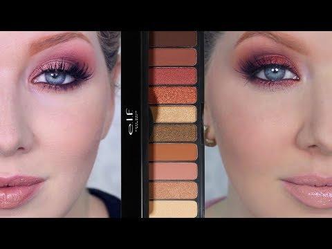 New ELF Makeup Tutorial | Rose Gold Sunset Palette