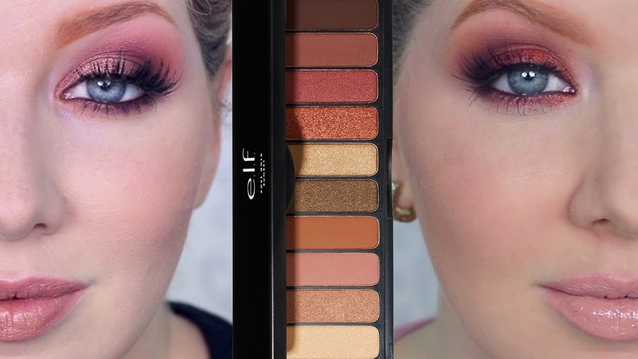 New ELF Makeup Tutorial | Rose Gold Sunset Palette