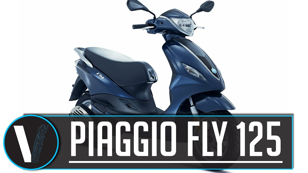 piaggio fly 125 review 2016 - youtube