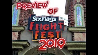 Fright Fest Preview at Six Flags Over Georgia