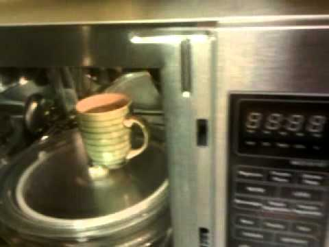 Defective Magic Chef Microwave - YouTube on