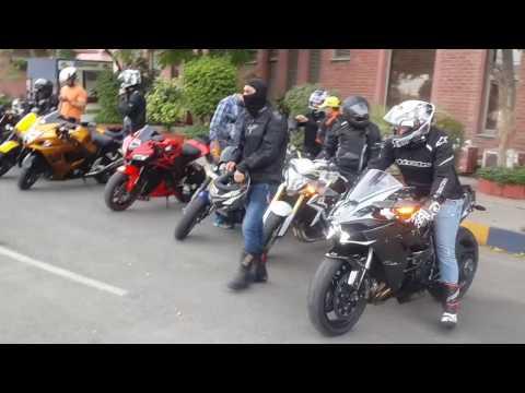 Crazy Superbikes In India - Delhi NCR