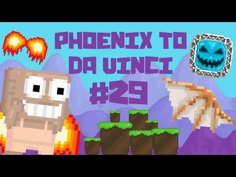 Growtopia - Phoenix To Da Vinci #29 | GHOST CHARM!!