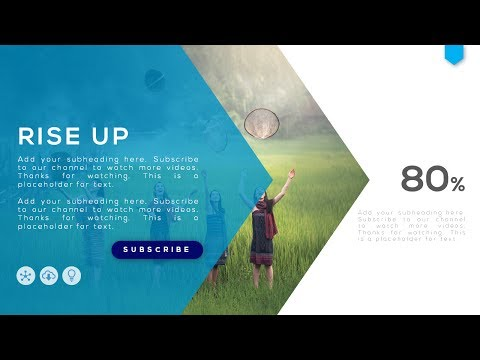 How To Create a Simple Beautiful Presentation Slide in Microsoft Office PowerPoint PPT