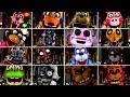 Ultimate Custom Night Jumpscares (FNAF Jumpscare Animations)
