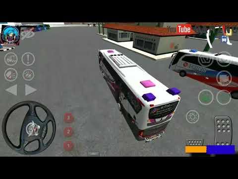 (Game Android simulator Indonesia) bersama :lagu ayo numpak bus haryanto