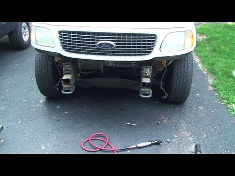 Ford Expedition Front Bumper Replacement