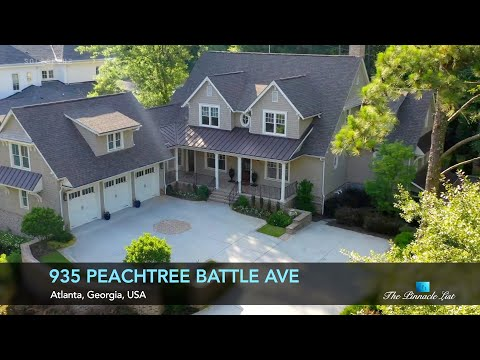 Luxury Home | 935 Peachtree Battle Ave NW, Atlanta, Georgia, USA 🇺🇸 | Luxury Real Estate
