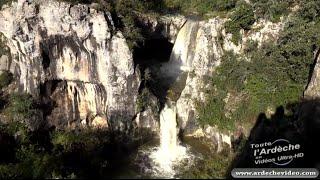 Ardèche - Le Gour de la Sompe en Crue