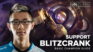 Blitzcrank Support Carry Guide by C9 Hai - Season 6 | League of Legends