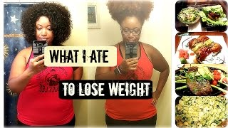 What I Ate to Lose 60 Pounds