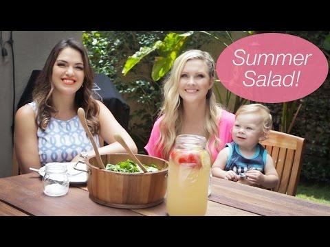 Delicious Strawberry & Spinach Salad!!