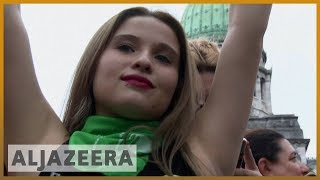 🇦🇷 Argentina's Congress to vote on legalising abortion | Al Jazeera English