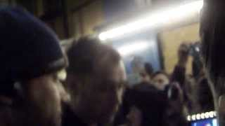 Jude Law meets fans out of Noel Coward Theatre - January, 2nd 2014