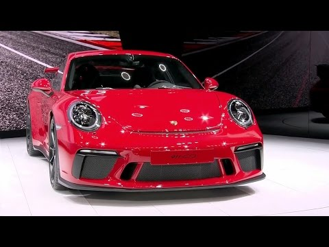 2017 Porsche 911 GT3 revealed at the Geneva Motor Show (Full press conference)