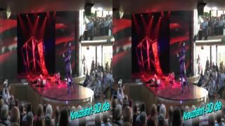 3D-Video: AIDAmar Show heart - eine Exklusiv-Show auf der AIDA mar (Reisebericht 11.06.2012)