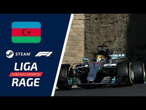 LIGA RAGE STEAM EUROPA F1 2017 - 1° TEMPORADA 6° ETAPA