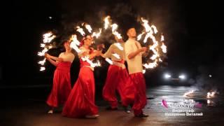 Видео украинского фаер-шоу от