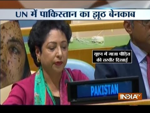 Pak Shameful Lie in UN, Uses 2014 Gaza War Picture As Face Of 'Indian Democracy'