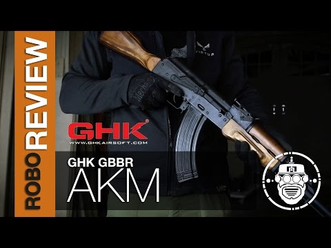 Robo-Airsoft: Robo Gear Review - GHK - AKM Gas Blowback Rifle