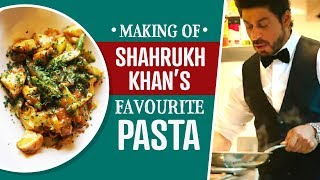 The making of Shah Rukh Khan's Favorite Pasta | Lifestyle | Food | Health Tips | Pinkvilla
