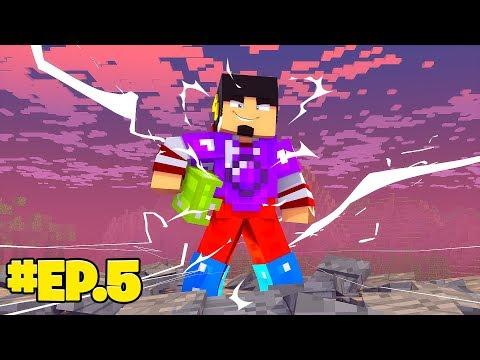 Minecraft: FULL POWER GEMS - A PROVA DE TUDO Ep.5 ‹ EduKof Games ›