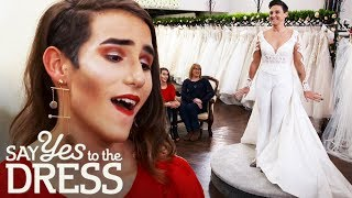 Biker Bride Wears Wedding Trousers Instead of a Wedding Dress! | Say Yes To The Dress Lancashire