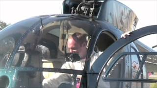 Startup & Takeoff of an Turbine MD500 Helicopter