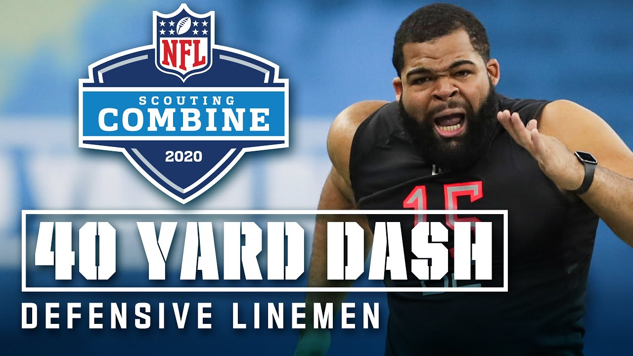 NFL Combine: Which defensive lineman ran fastest on Sunday