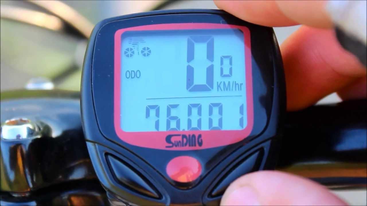 Sd 548b Sunding Bicycle Computer Speedometer Odometer From China