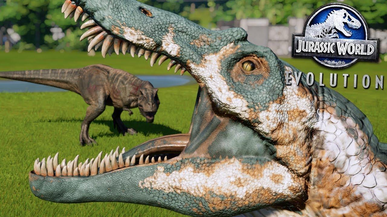 Battle Royale Rematch Jurassic World Evolution Hd Youtube