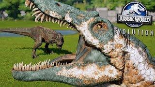 BATTLE ROYALE REMATCH!!! - Jurassic World Evolution   HD
