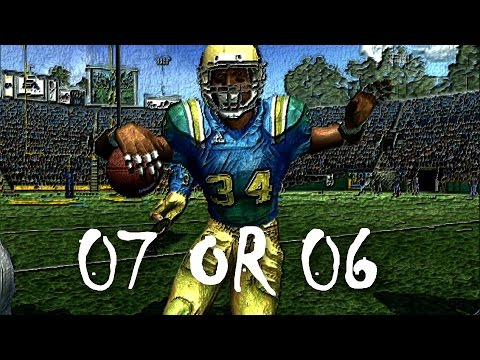 NCAA FOOTBALL 2007 - MARCUS DUPREE CAMPUS LEGEND EP3