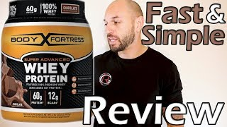 Body Fortress: Advanced Whey Protein Supplement Review