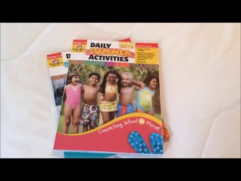 Evan Moor Summer Activities Workbooks Review