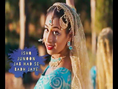 Hindi Sad Song !! Ishq Junoon Jab Had Se Badh Jaye !! Whatsapp Status Video