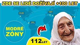 MODRÉ ZÓNY   Místa na Zemi, kde se lidé dožívají +100 let