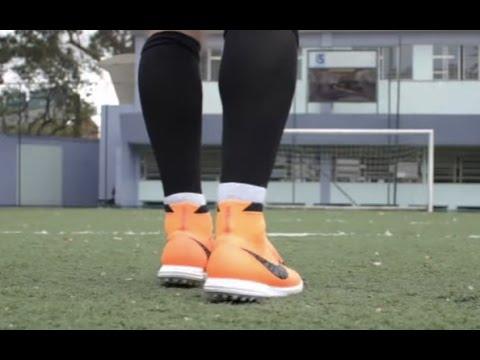 96126348b9 Testamos a chuteira Nike Magista society (cano alto) - YouTube