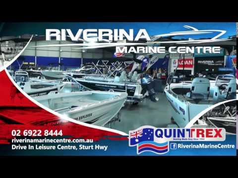 Riverina Marine Centre Quintrex TVC